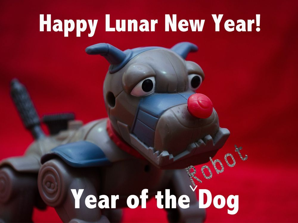 Celebrating Lunar New Year with Robot Dogs and Pet Tech