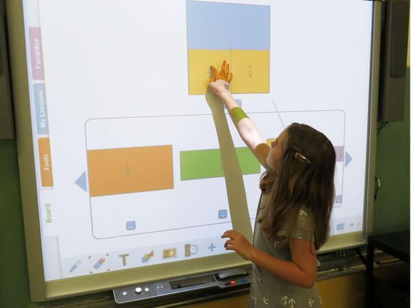classroom with smartboard clipart - HD2048×1919